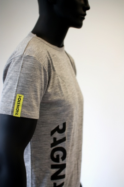 T skjorte, grå merinoull ProtexShop